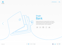 Website for Single Bank by SoftFacade