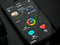 Statistics UI by Jackie Tran