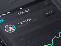 New IOS App design by Julien Renvoye