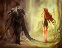 hades and persephone 1 by *sandara