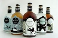 Folksaga Liquor Packaging - Student Work by Caleb Heisey