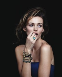 Fashion — Edita Vilkeviciute for Neiman Marcus