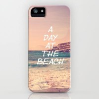 A day at the beach iPhone Case by pascal+ | Society6