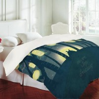 DENY Designs Home Accessories | Belle13 Totoros Dream Forest Duvet Cover