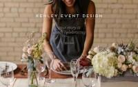 Kenley Event Design - Webdesign inspiration www.niceoneilike.com