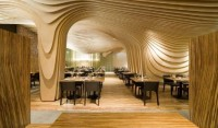 Banq Restaurant Interior - Unique Design Ceiling Restaurant by Office dA | Home Design Inspiration