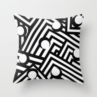 Humbug Throw Pillow by Veronica Ventress | Society6