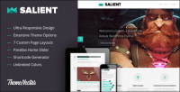 WordPress - Salient - Responsive Portfolio & Blog Theme | ThemeForest