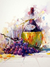 Watercolors Painting