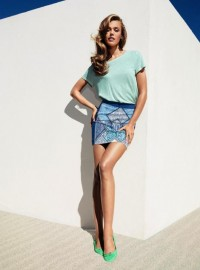 Fashion — Frida Gustavsson for H&M April Lookbook
