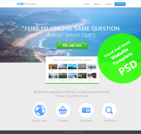 Beautiful Travel and Hotel Website Template PSD for Free Download - Freebie No: 70 - CSS Author is a Design and Development related blog