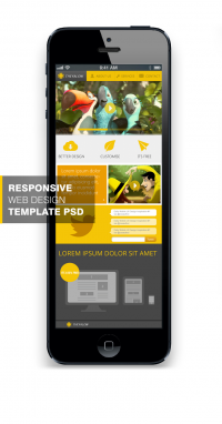 THEYALOW - A Responsive Web Design Template PSD for Free Download - Freebie No: 73 - CSS Author is a Design and Development related blog