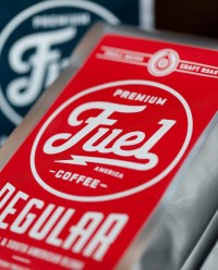 Branding Ascendancy: Fuel Coffee Shop in Brighton, MA. | inspirationfeed.com