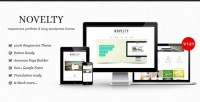 WordPress - Novelty - Retina Ready Responsive Wordpress Theme | ThemeForest