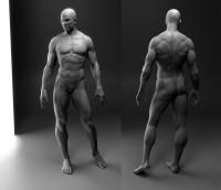 Male body by flcl38 - jang SeongHwan - CGHUB