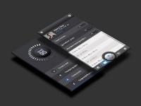 score95 ios app by Webmockupz