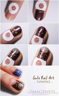 DIY Owl Nail Design Do It Yourself Fashion Tips | DIY Fashion Projects