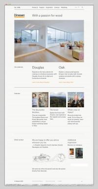 The Web Aesthetic — Dinesen