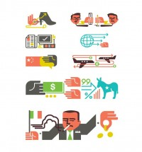 Monocle Illustrations / Icons - Matt Lehman Studio