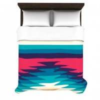 "Nika Martinez ""Surf"" Duvet Cover | KESS InHouse"