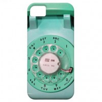 iphone5 case - call me rotary dial phone from Zazzle.com