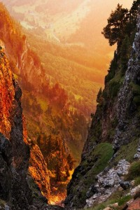 Stunning Picz: Golden Canyon, The Alps, Switzerland