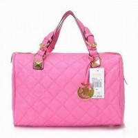 Michael Kors Quilted Bags Pink Grayson Womens