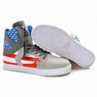 supra skytop 2 high tops grey blue red white cheap