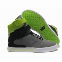 supra tk society high tops grey black green shop men