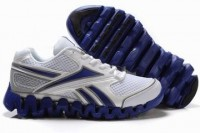 wholesale reebok zig fuel shoes white and blue