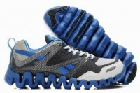 reebok zig return shoes grey blue white