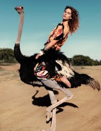 Fashion — Erin Wasson by Petrovsky & Ramone for Vogue Netherlands