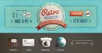 45 Free Retro and Vintage Design Resources | inspirationfeed.com