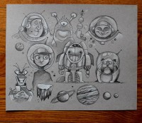 To Infinity and Beyond… – MonkeyWorks Illustration