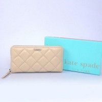 Kate Spade New York Gold Coast Lacey Leather Zip Around Wallet Beige Shop Online