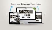 Responsive Showcase Presentation (PSD) - Designer First