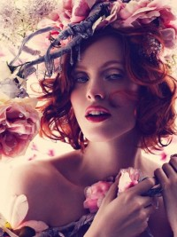 Fashion — Karen Elson by Alexi Lubomirski for Harper's Bazaar UK