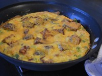 Potato Bacon Cheddar Breakfast Bake - Dinner Happy