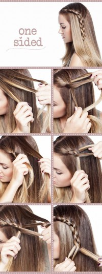 DIY Style a Cute Side Braid Hairstyle Do It Yourself Fashion Tips   DIY Fashion Projects