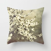 Cherry blossom Throw Pillow by pascal+ | Society6