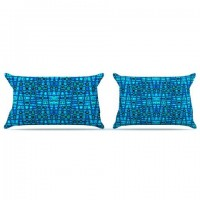 "Nina May ""Variblue"" Pillow Case 