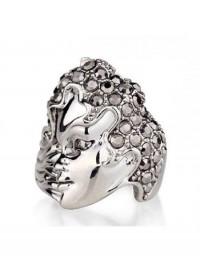 Magic Mask Crystal Ring
