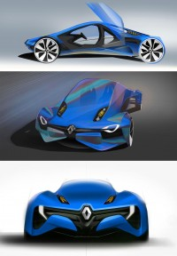 Renault Fly Concept - Car Body Design