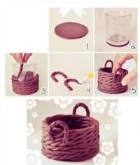 DIY Clay Basket DIY Projects   UsefulDIY.com