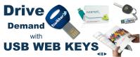 USB Webkeys, Paper Web Keys