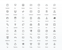 Simplicity Vector Icon Set | Web Icon Set