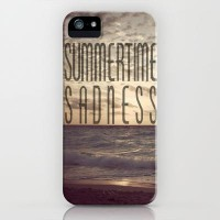 SUMMERTIME SADNESS iPhone & iPod Case by SUNLIGHT STUDIOS | Society6
