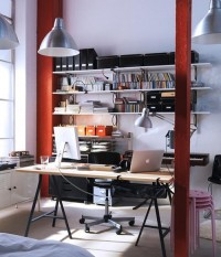 LML | myidealhome: stunning home office (via DigsDigs)
