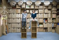 Cardboard Furniture Collection Design by Made in Cardboardia - Furniture Design Blog - Furniture Design Ideas | Furniii