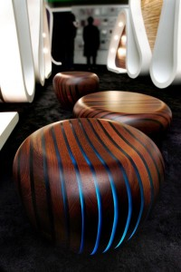Avanzini Group Bright Woods Stool & Table Design by Giancarlo Zema - Furniture Design Blog - Furniture Design Ideas | Furniii